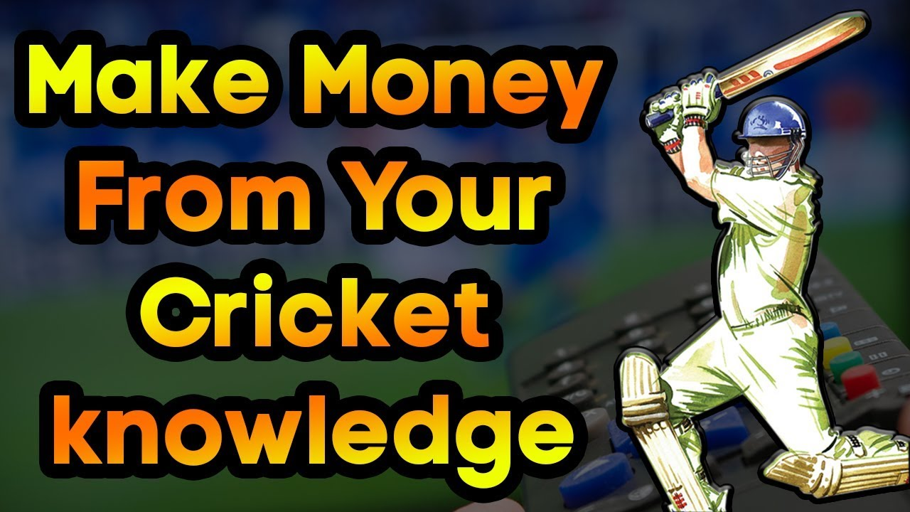 Earn Unlimited Money Online By Just Playing Simple Cricket