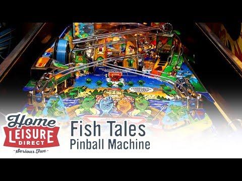 Fish Tales Pinball Machine (Williams 1992)
