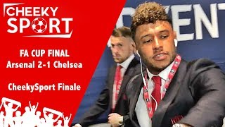 Wenger stays | cheekysport meet arsenal & chelsea players at fa cup final | arsenal 2-1 chelsea