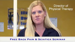 Free Back Pain and Sciatica Relief Seminar