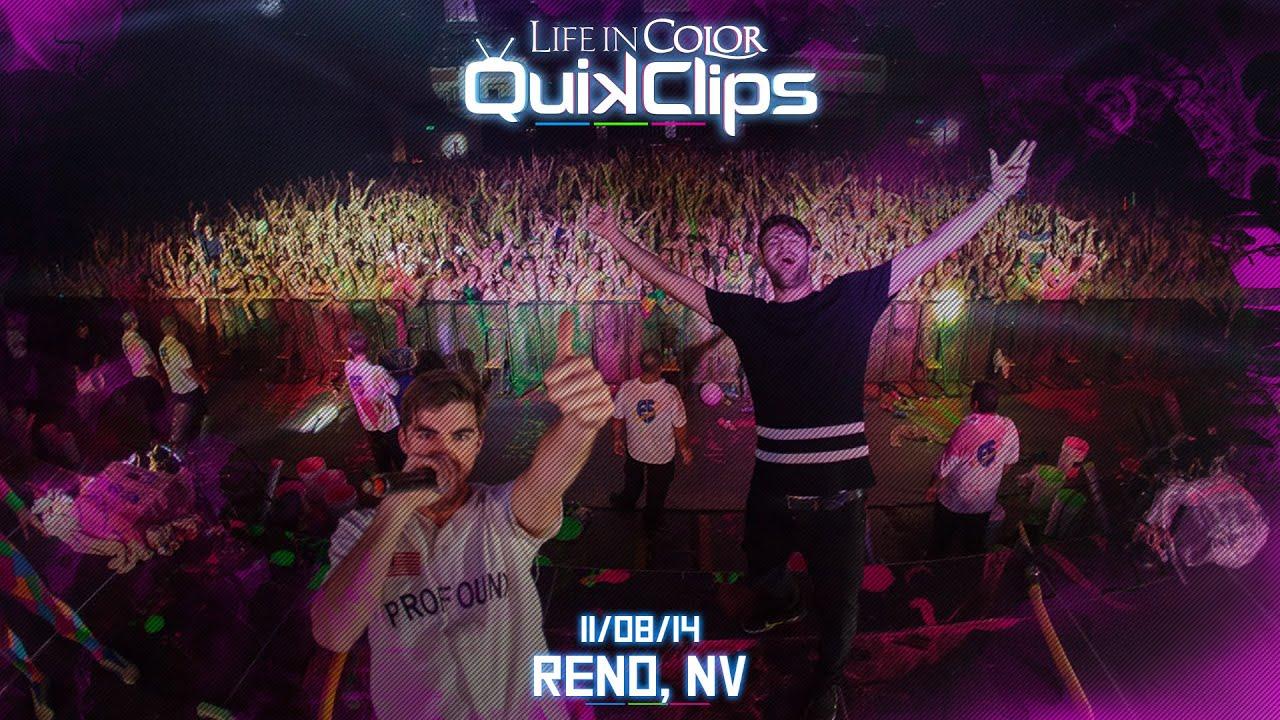 Life In Color - UNLEASH - RENO, NV - 11/08/14 - QuikClip - YouTube