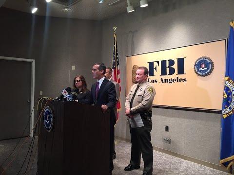 TERROR TREAT in LOS ANGELES TODAY - December 6th, 2016