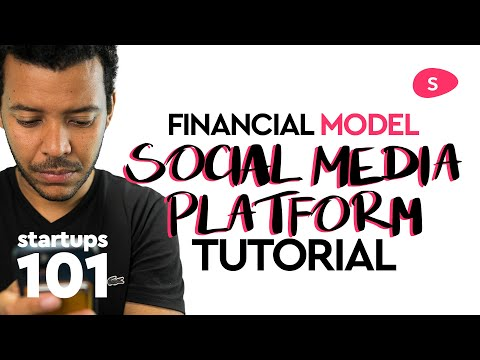 Projecting Revenue for a Social Media Platform Business - Financial Modeling
