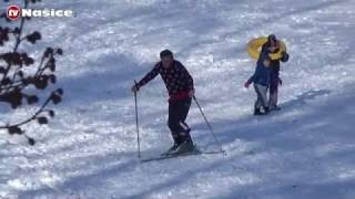 Sanjkanje i skijanje iza dvorca