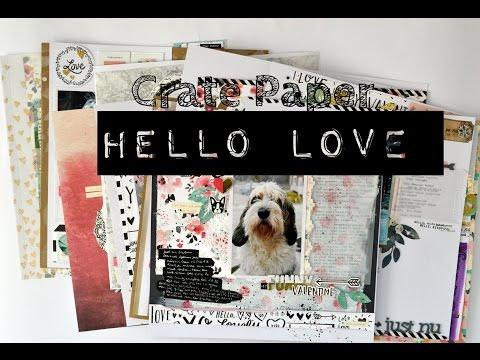 "the Crate paper ""Hello Love"" Marathon"