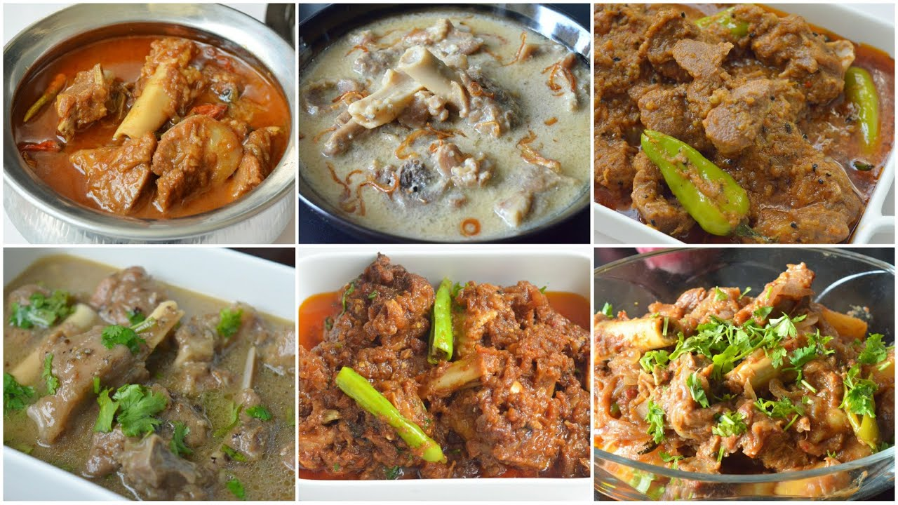 6 BEST MUTTON CURRIES FOR EID by (YES I CAN COOK)