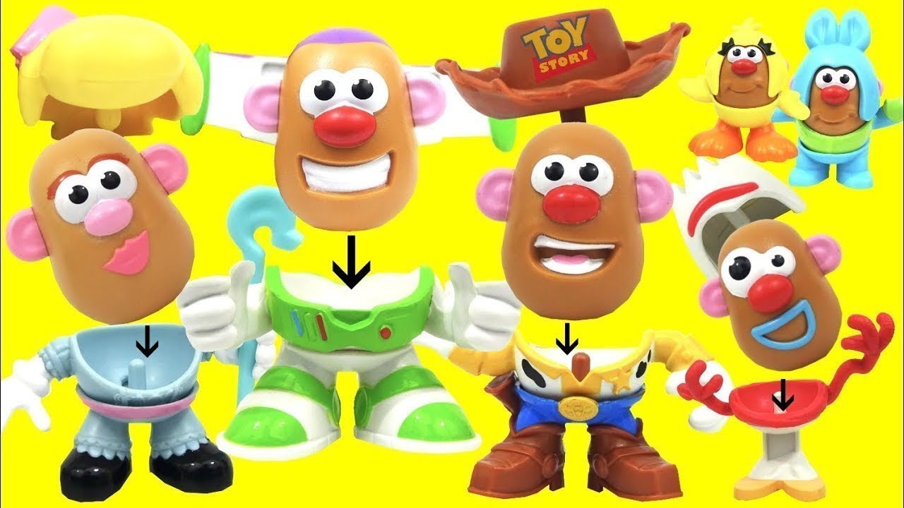 Download Unboxing Toy Story 4 Andy's Playroom Mr. Potato Head Characters