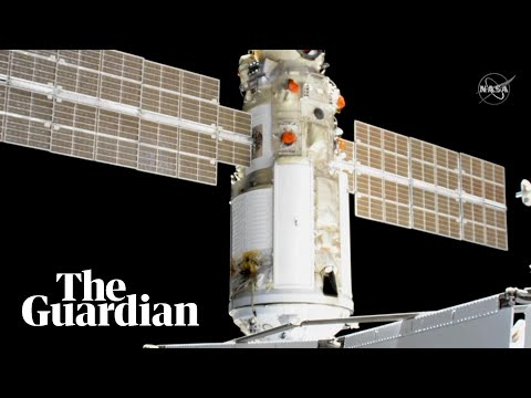 Russian space module mishap pushes ISS out of position
