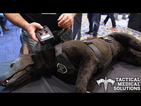Tactical Medical Solutions ShotShow 2020 - K-9 Diesel Advanced Medical Trainer