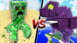 MINECRAFT TITANS vs MINECRAFT MYTHICAL CREATURES!!