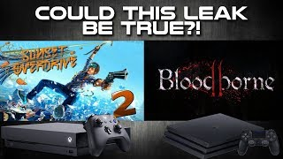 Sunset Overdrive 2, Bloodborne 2 and More LEAKED by Amazon Italy... Could It Be True?