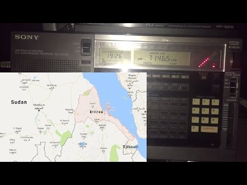 Voice of the Broad Masses of Eritrea 7146.5 kHz, Asmara, first reception