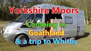 Womble in North Yorkshire. Camping on the moors & trip to Whitby