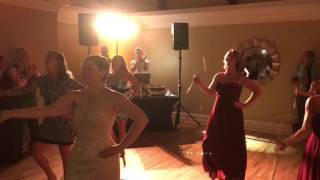 Penn State Majorette Bride Rocks Wedding