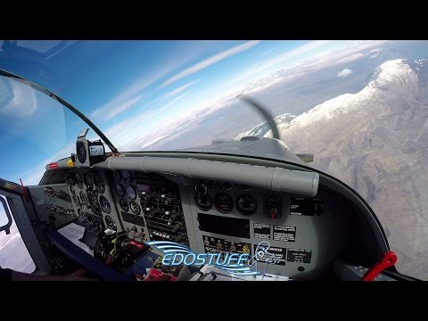 Pilatus PC-6 Turbo Porter Full Flight - Cockpit View - Piket Airfield LDSS HD