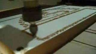 Joe's 2006 Cnc Router - Cutting Cherry