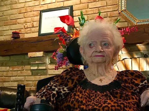 World record for oldest person boob pic surprised