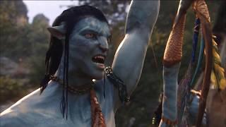 Avatar 2009 - Full fight scenes - The final battle