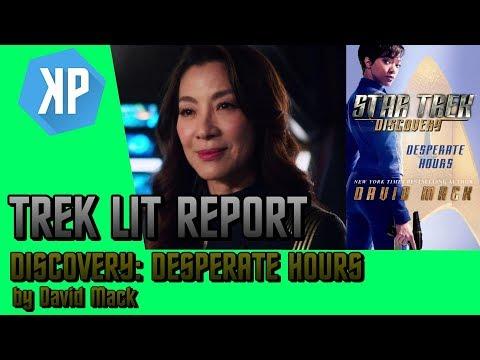 TREK LIT REVIEWS: Star Trek: Discovery: Desperate Hours by David Mack