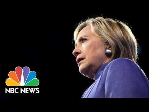 Hillary Clinton Comments on 'Overheating' at 9/11 Ceremony   NBC News