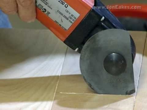 Avoid Burning With An Oscillating Saw In Plunge Cutting
