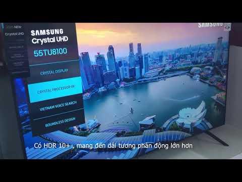 Đánh giá nhanh Smart TV Samsung 55TU8100 màn 4K UHD mới 2020