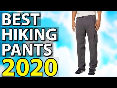 ✅ TOP 5: Best Hiking Pants 2020