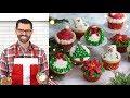 How to Make Christmas Cupcakes