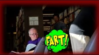 Farting In The Library Wet Fart Prank   The Sharter
