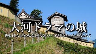 よみがえった戦国の城【高根城】静岡の山奥にある大河ドラマで使われた美しい城跡