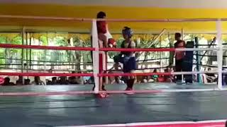 Prantika Gagoi my first  girl student who won her first tournament first bout at jorhat. RSC
