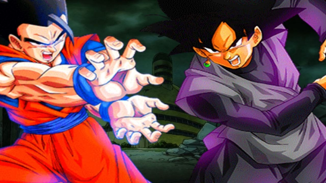 Image result for black goku vs mystic gohan