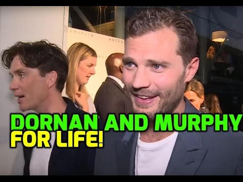 """Jamie Dornan will be friends with Cillian Murphy """"for life"""""""