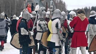 Исторические военно-полевые маневры(Medieval military field wargames. Shot on Canon 550d., 2012-06-14T17:56:07.000Z)