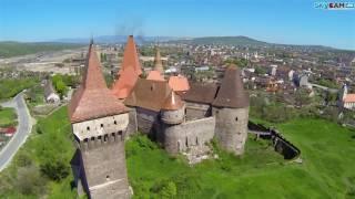 Verdadero castillo de Dracula esta en Hunedoara,Transilvania, Rumania