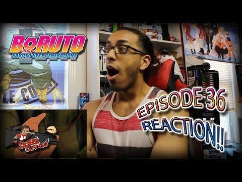 BORUTO EP. 36 REACTION + Predictions!!