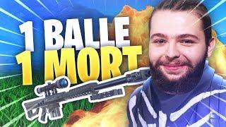 UNE BALLE = UN MORT ! LA PLUS BELLE GAME DE SNIPER DE MA VIE !