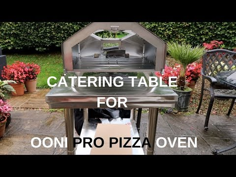 New Table and Putting Together the Ooni Pro Pizza Oven | Uuni Pro