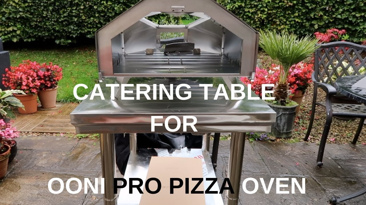Pizzastand Oven New Table And Putting Together The Ooni Pro Pizza Oven Uuni Pro