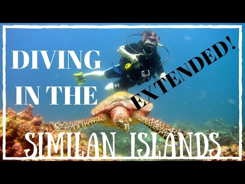 EXTENDED DIVE GUIDE - Similan Islands, Thailand