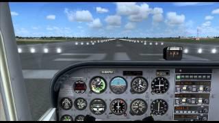 FSX Basics Tutorial 1 (Cessna 172) Cockpit familiarisation and Take Off