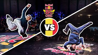 Red Bull BC One Cypher Belgium  2019 | Final B-Boys: Simon vs. Lucky