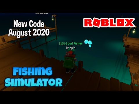 Roblox  Fishing Simulator New Codes August 2020