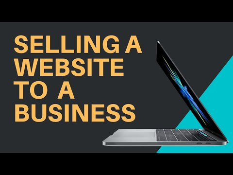 Selling A Website To A Business