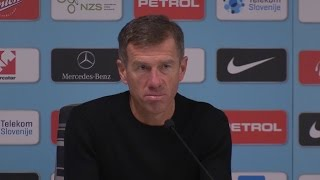 Slovenia 0-0 England - Srecko Katanec