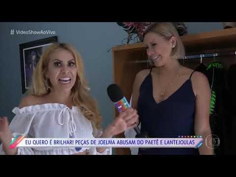 Joelma mostra seus figurinos preferidos para o Vídeo Show 17122018