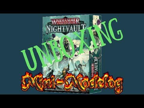 Unboxing of Warhammer Underworlds Nightvault |