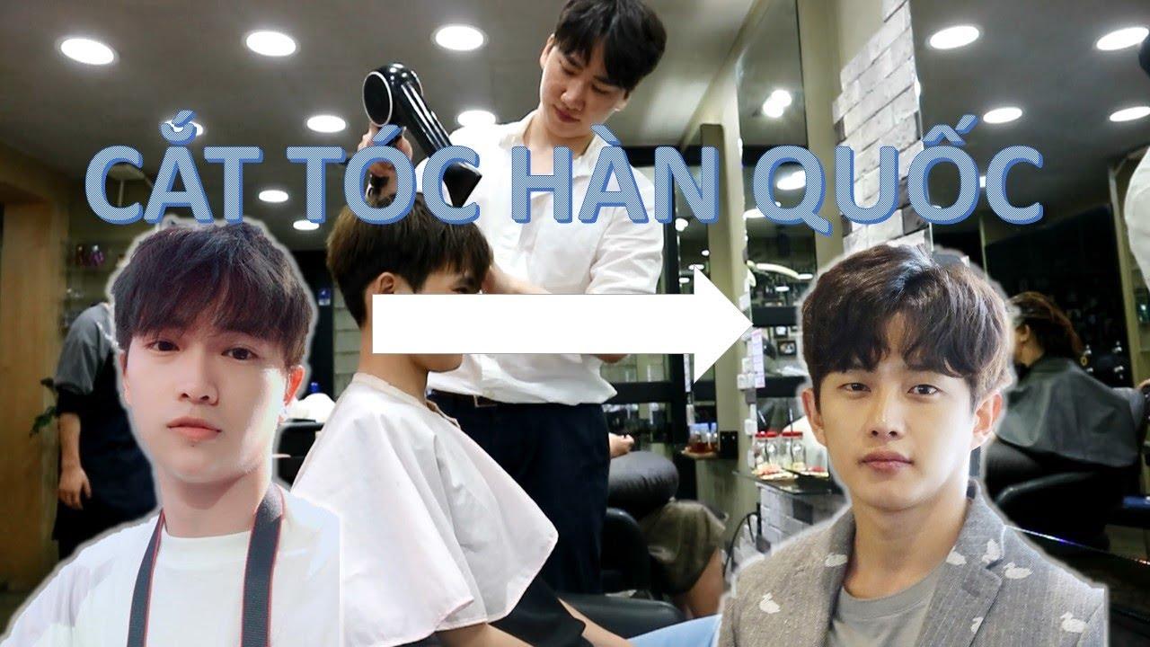 Cắt tóc ở HÀN QUỐC tập 2: Hôm nay được anh Hàn Quốc đẹp trai cắt cho