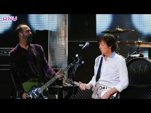 Paul McCartney Nirvana perform new song at Sandy relief gig