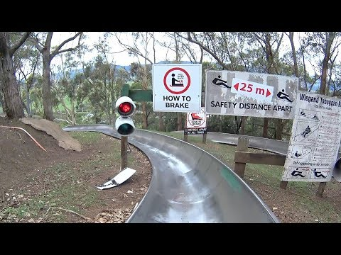 Bobsled Ride at Jamberoo Action Park